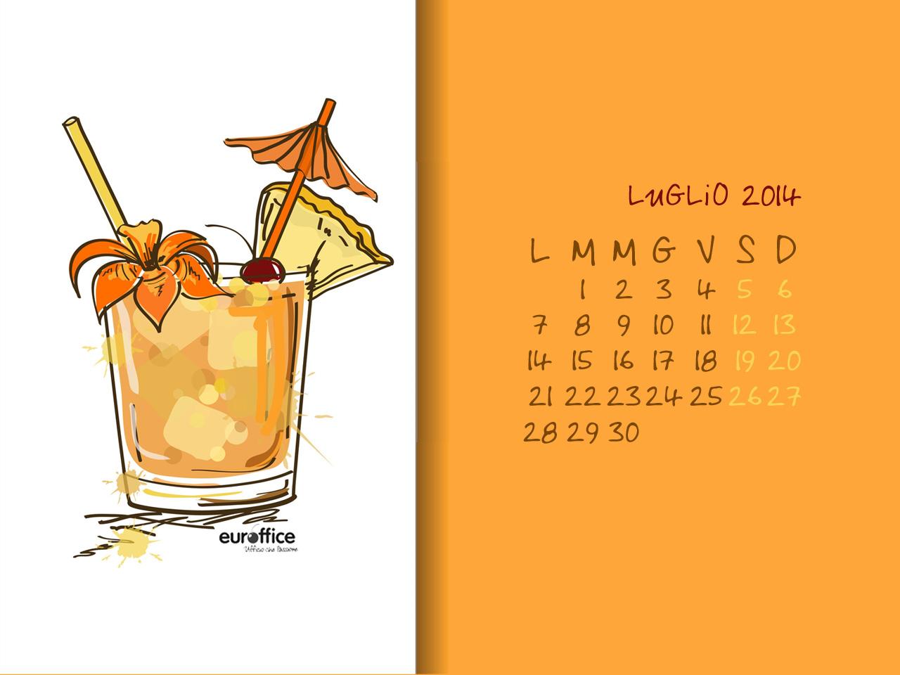 Wallpaper luglio 2014 - Cocktail