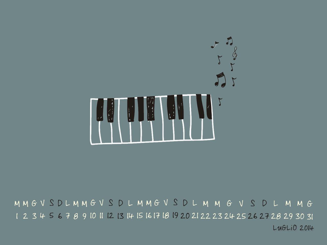 Wallpaper luglio 2014 - Musica