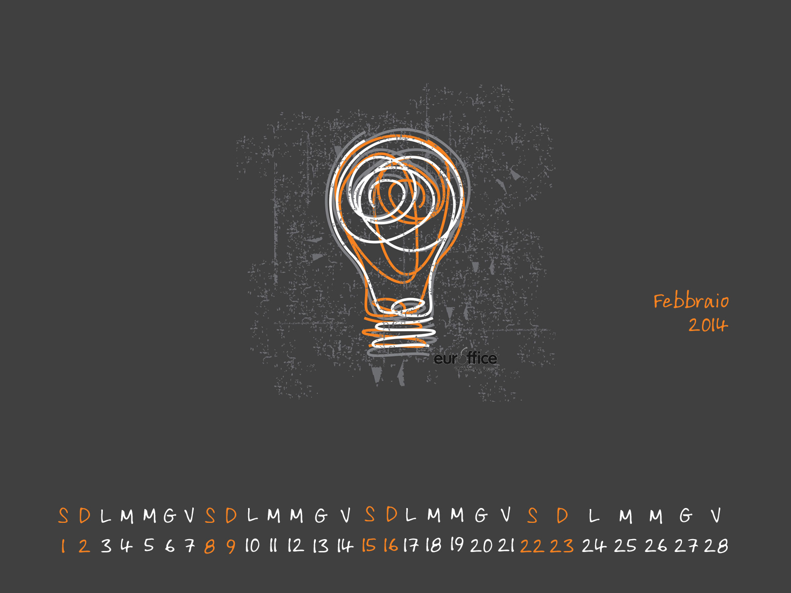 Wallpaper febbraio 2014 - Idea