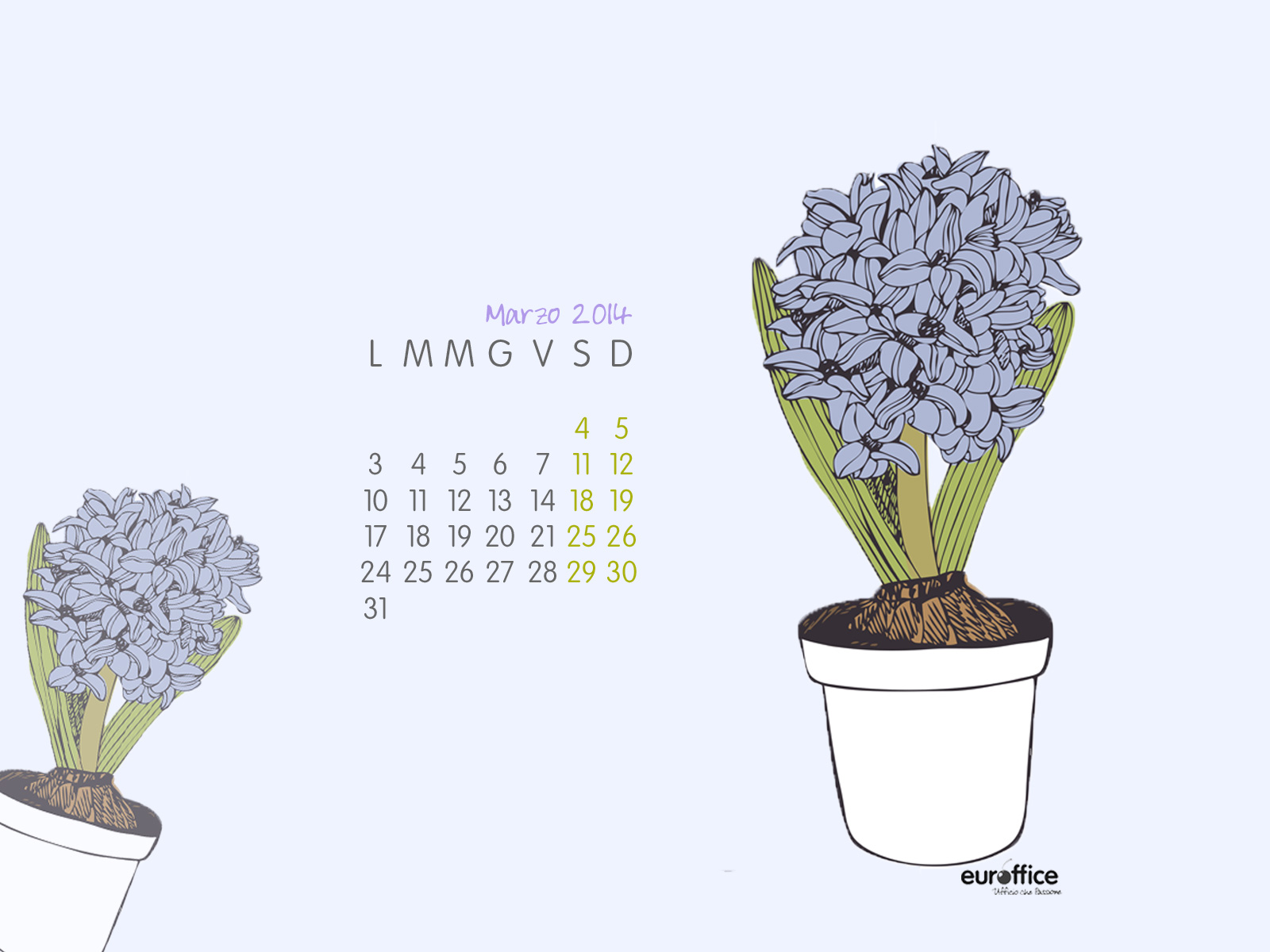 Wallpaper marzo 2014 - Primavera
