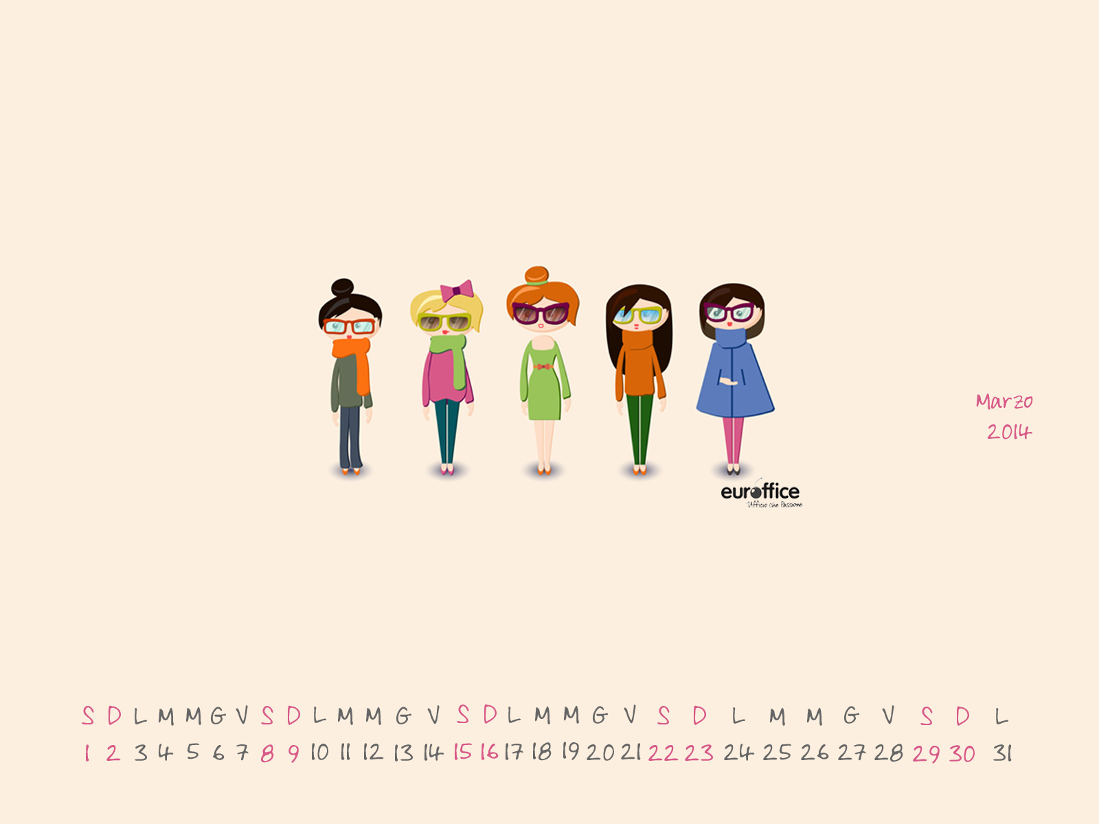 Wallpaper marzo 2014 - Womens' day