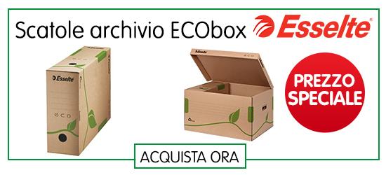 scatole archivio ecologiche