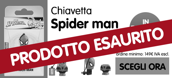 chiavetta spiderman