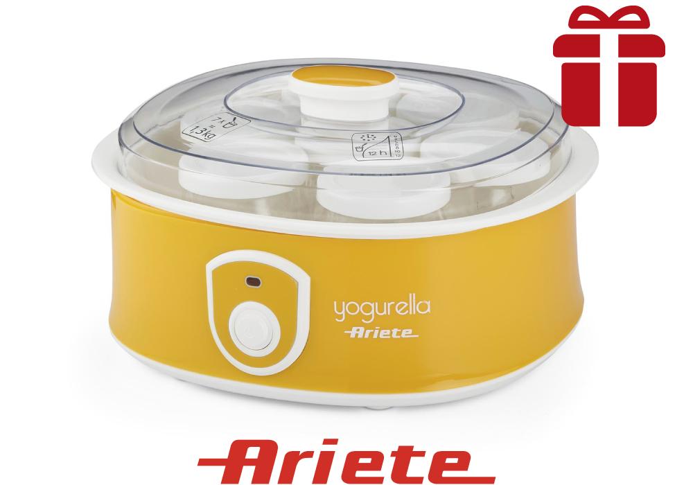 Yogurtiera con 7 vasetti Ariete