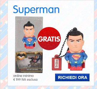 Chiavetta USB 8 GB - Superman
