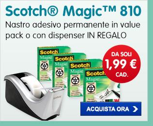 Value Pack di Nastro adesivo Scotch® Magic™ 810