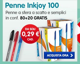 80+20 GRATIS Penne Inkjoy 100