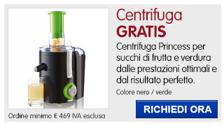 Centrifuga Princess IN REGALO