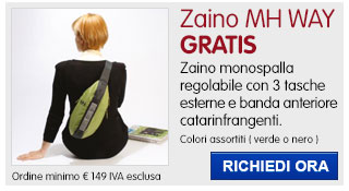 Borsa monospalla MH Way IN REGALO