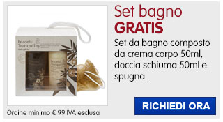Set bagno Foama IN REGALO