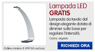 Lampada a led Hansa IN REGALO