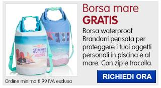 Borsa mare waterproof Brandani IN REGALO