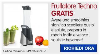 Frullatore Smoothies Techno Collection Brandani IN REGALO