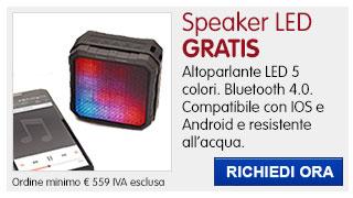 Speaker LED IN REGALO