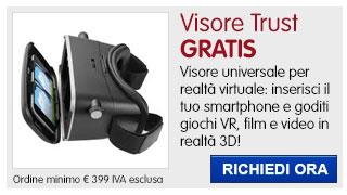 Visore realtà virtuale Trust IN REGALO