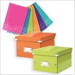 Acquista una scatola Click & Store e ricevi 6 buste a L colorate IN REGALO