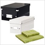 Acquista 4 scatole archivio Leitz Wow e ricevi un set asciugamani IN REGALO!