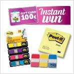 Acquista Post-it e vinci un buono acquisto da 100€!
