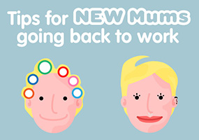 Helpful Tips For New Mums Getting Back To Work