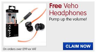 FREE Veho Headphones