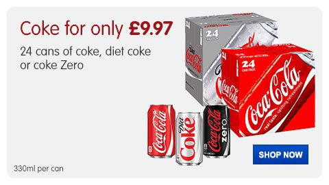 coke for only £8.99