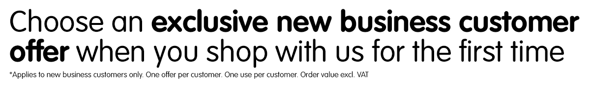 Exclusive New Business Customer Offer